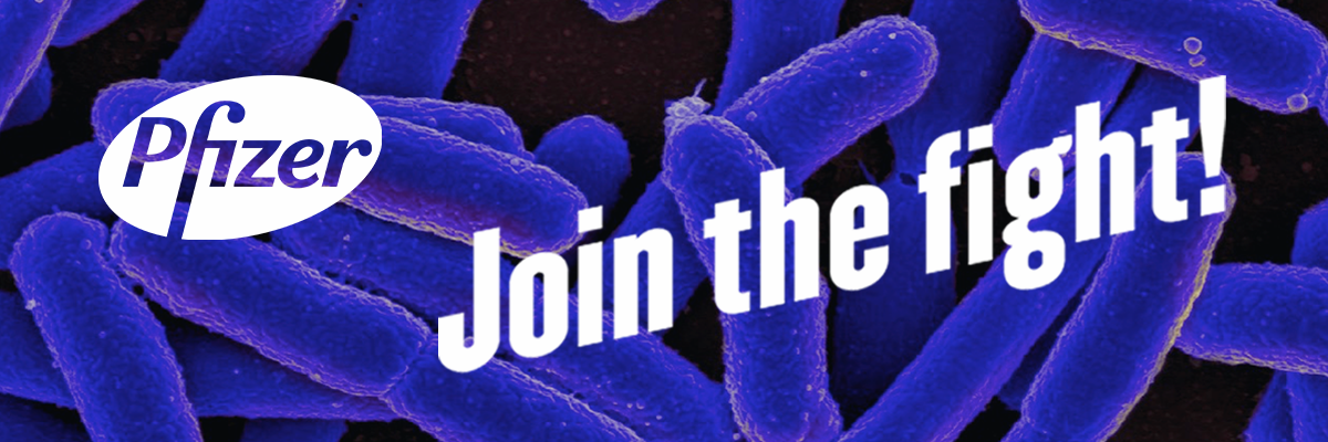 Pfizer superbugs join the fight banner image