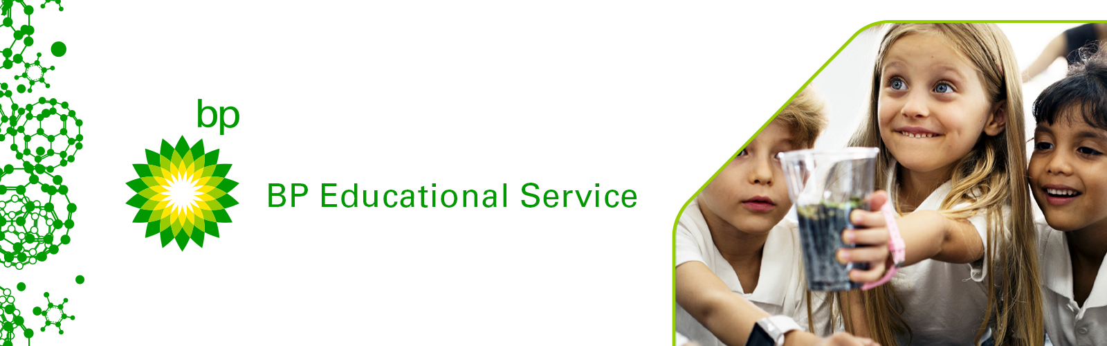 BP educational service initiative banner