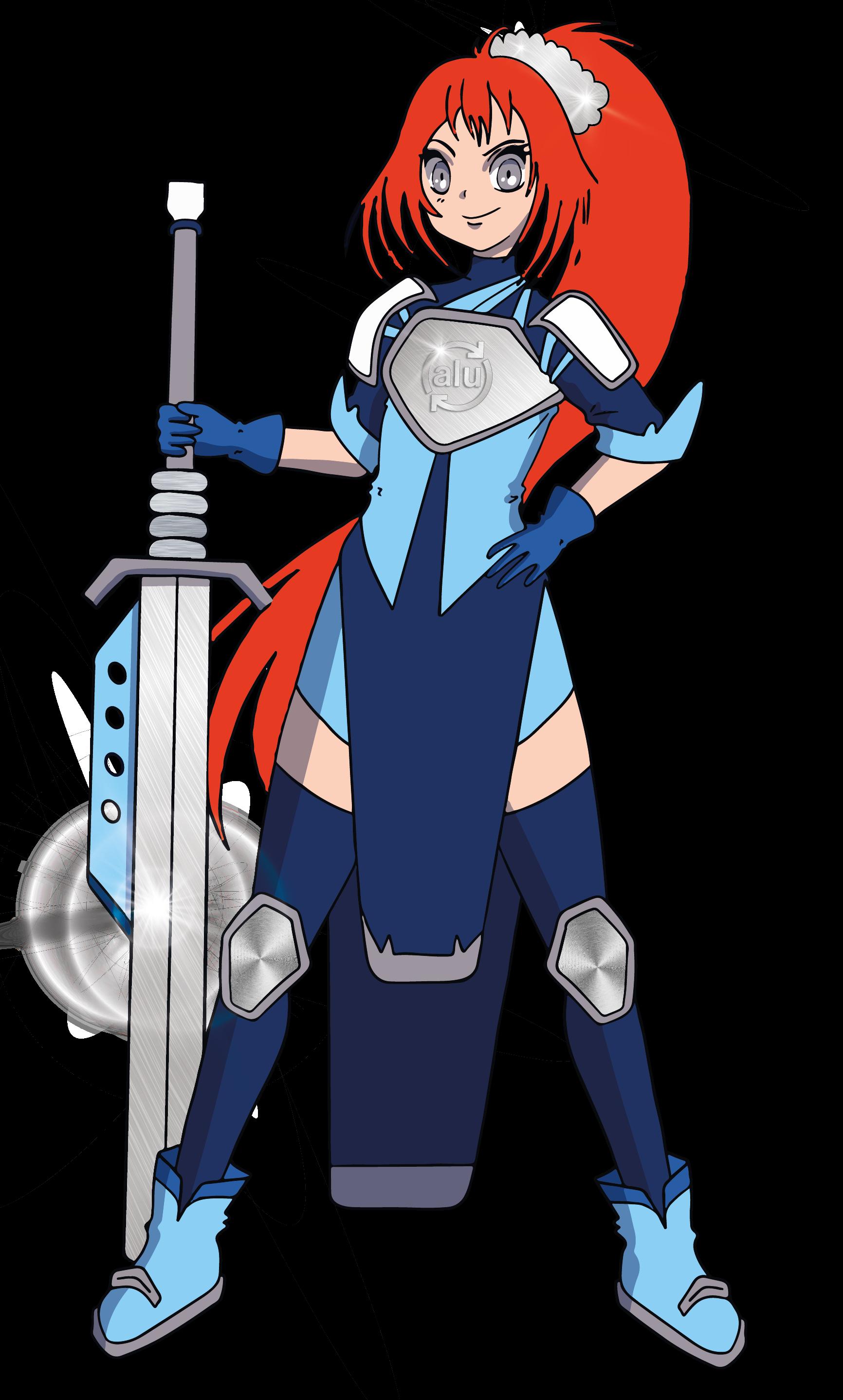 Female superhero - Ally