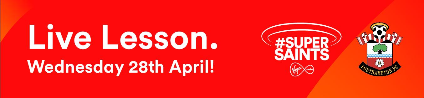 Description of Live Lesson 28th April