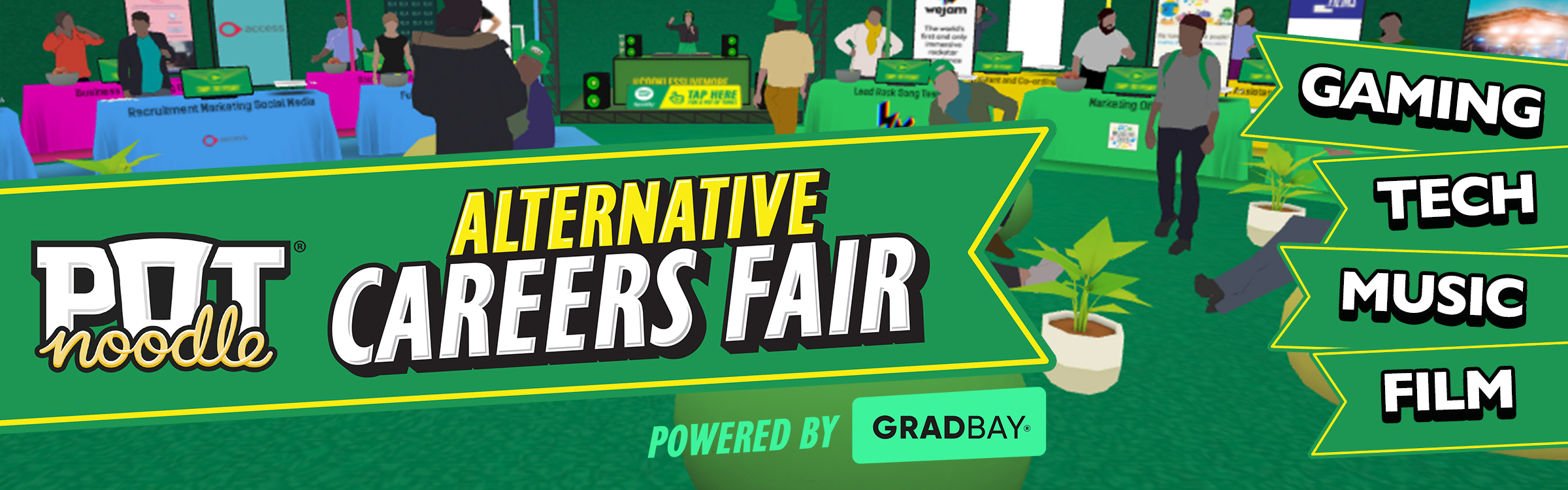 virtual alternative careers fair